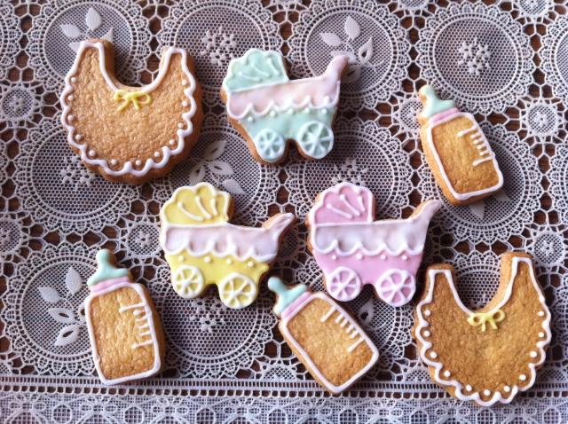 出産祝い 名入れクッキー