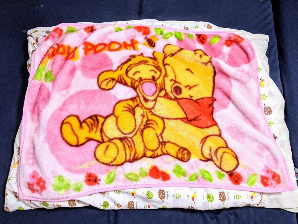 子供用の毛布