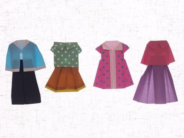 色んな種類の服