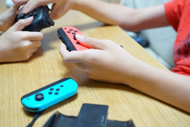 Nintendo Switchで遊ぶ