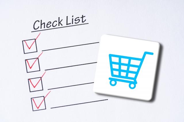 買い物チェックリスト